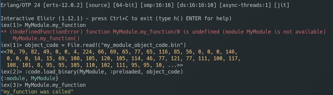 elixir module loading error